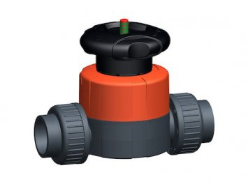 Manual diaphragm valves