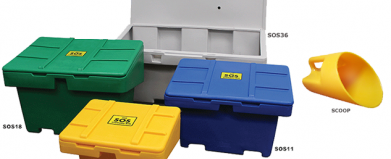 SOS™ Storage bins