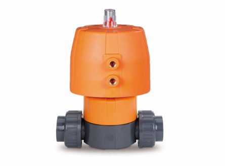 Automatic diaphragm valves