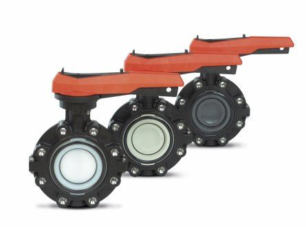 Manual butterfly valves