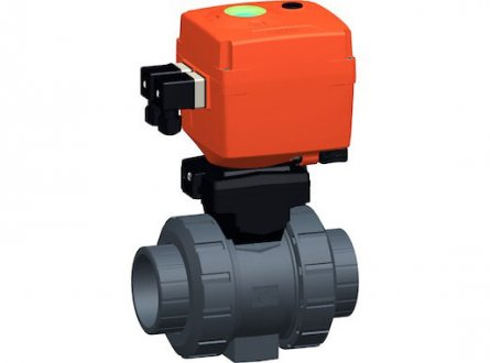 Automatic ball valves